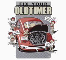 Fix your Oldtimer - Beetle 2 One Piece - Short Sleeve