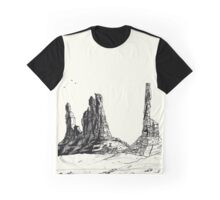 Desert Landscape 02 Graphic T-Shirt