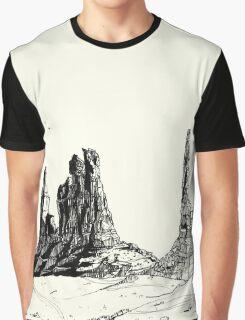 Desert Landscape 02 Graphic T-Shirt