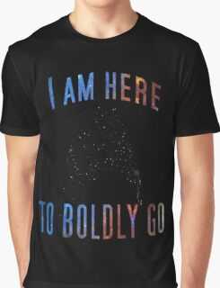 To Boldy Go Graphic T-Shirt