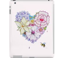 Love Blooms iPad Case/Skin