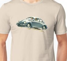 Beetle Car keeps the Lead (V.2) Unisex T-Shirt