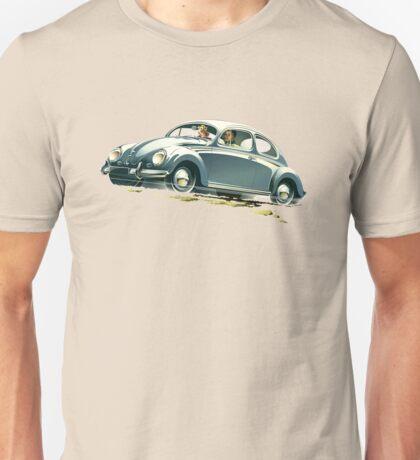 Beetle Car keeps the Lead (V.2) Unisex T-Shirt