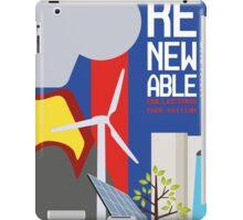 Renewable britain iPad Case/Skin