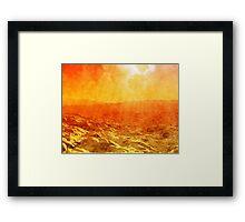 Planet Mercury Framed Print