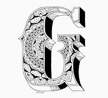 G - Mandala N°1 inside Alphabet N°1 Unisex T-Shirt