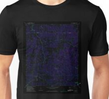USGS TOPO Map Alabama AL Five Points 303834 1968 24000 Inverted Unisex T-Shirt