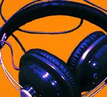 Headphones Sticker