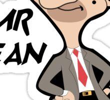 Mr.Bean Cartoon Sticker