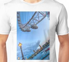 The London Eye and Westminster Unisex T-Shirt