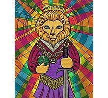 The Emperor Tarot Card Photographic Print