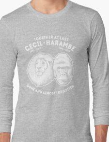 Cecil Harambe Memorial T-Shirt Long Sleeve T-Shirt