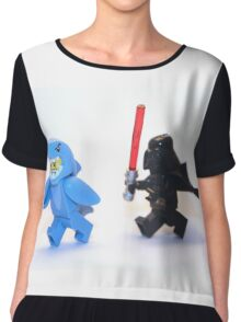 Lego Star Wars Darth Vader and Shark Suit Guy Pursuit Minifigure Chiffon Top