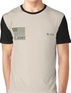 Lieutenant General Infantry US Army Rank Desert by Mision Militar ™ Graphic T-Shirt