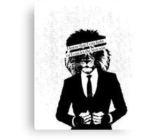Let the Lion Win Canvas Print