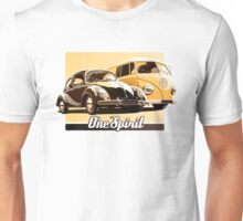 One Spirit - Beetle & Bus Unisex T-Shirt