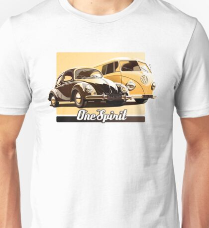 One Spirit - Beetle & Bus Unisex T-Shirt