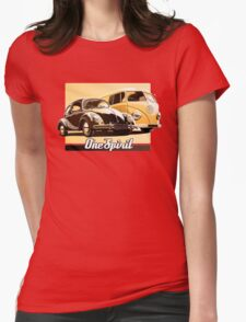 One Spirit - Beetle & Bus Womens Fitted T-Shirt