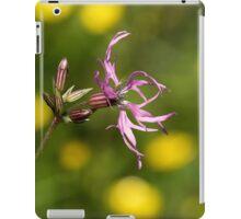 Ragged-robin iPad Case/Skin