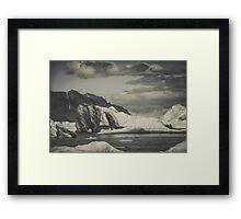 Icebergs VIII Framed Print