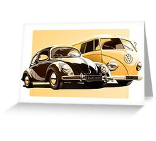 One Spirit - Bettle & Bus (only) Greeting Card