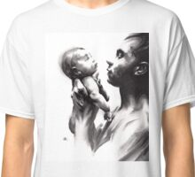 Shadowtwister, reflections - conté drawing Classic T-Shirt