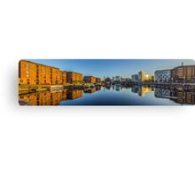 Sunrise at the Salthouse Dock Canvas Print