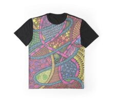 Rainbow Tangle Graphic T-Shirt