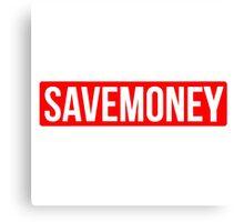Vic Mensa Save Money Logo  Canvas Print