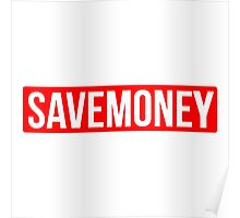 Vic Mensa Save Money Logo  Poster