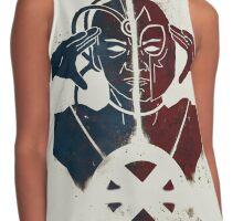 X Men Magneto N Xavier Contrast Tank