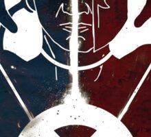 X Men Magneto N Xavier Sticker