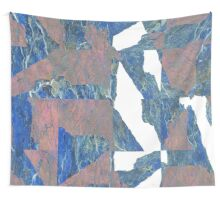 FRACTURE, grid sample II Wall Tapestry