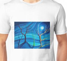 Trees in blue space  Unisex T-Shirt