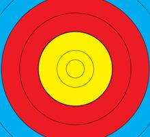 Walking Archery Target Sticker