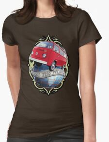 T2 Bus - Cross the World Womens Fitted T-Shirt