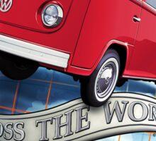 T2 Bus - Cross the World Sticker