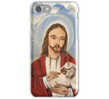 Christ the good shepherd iPhone Case/Skin