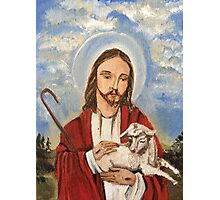 Christ the good shepherd Photographic Print