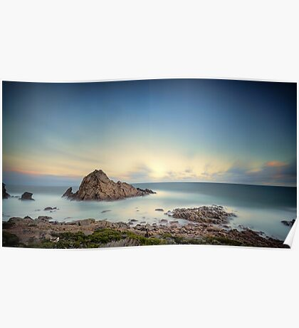 Sunrise at Sugarlofe Rock Poster