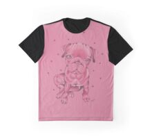 The Love Pug Graphic T-Shirt