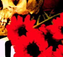 Vanitas Skull Sticker