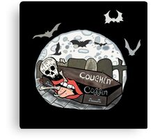 Coughin' Coffin Canvas Print