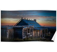 Craigs Hut - Mount Stirling - Victorian High Country Poster