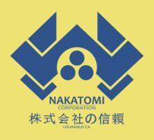 NAKATOMI PLAZA - DIE HARD BRUCE WILLIS (BLUE) Baby Tee