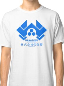 NAKATOMI PLAZA - DIE HARD BRUCE WILLIS (BLUE) Classic T-Shirt