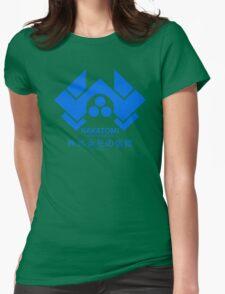 NAKATOMI PLAZA - DIE HARD BRUCE WILLIS (BLUE) Womens Fitted T-Shirt