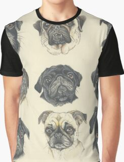 Multipugs Graphic T-Shirt