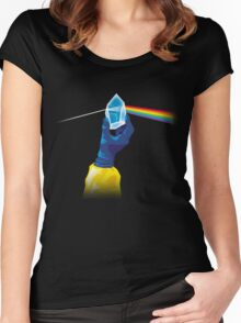 The Dark Side of the Meth (no tag) Women's Fitted Scoop T-Shirt