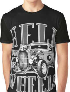 Hell on Wheels - Monotone Graphic T-Shirt